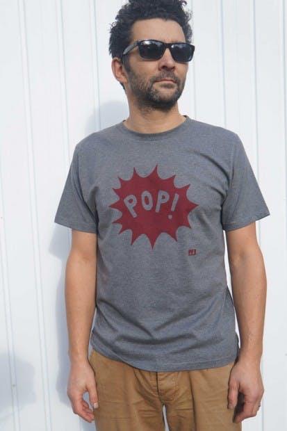 Pop organic t-shirts