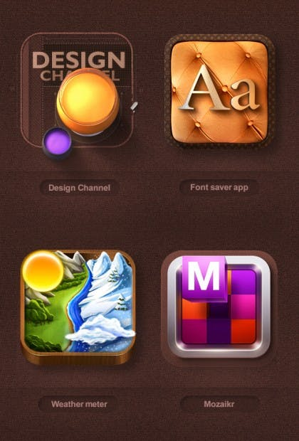 Graphic designer ios icons