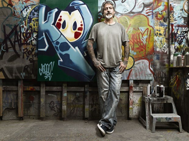 Godfather of graffiti