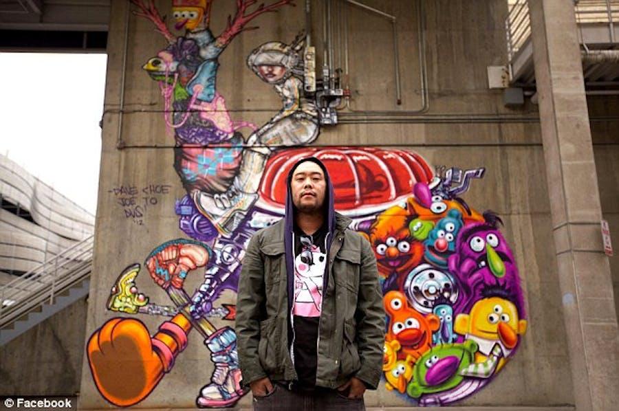 Urban art by David Choe