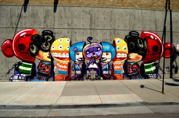 Urban art by david choe