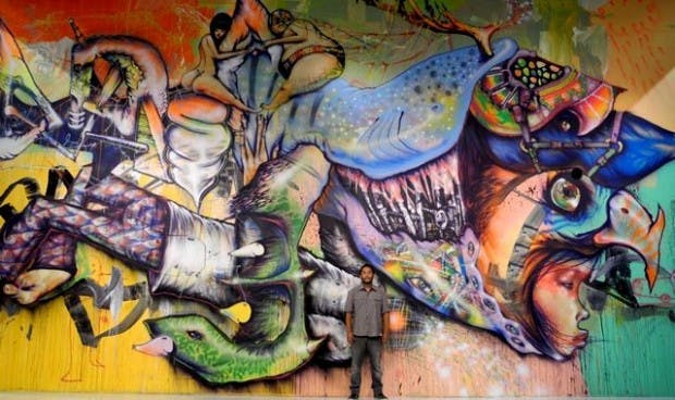 David Choe Urban Art
