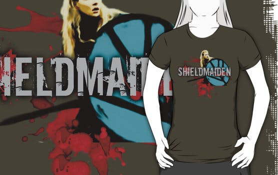 Army ,fight ,shieldmaiden tee