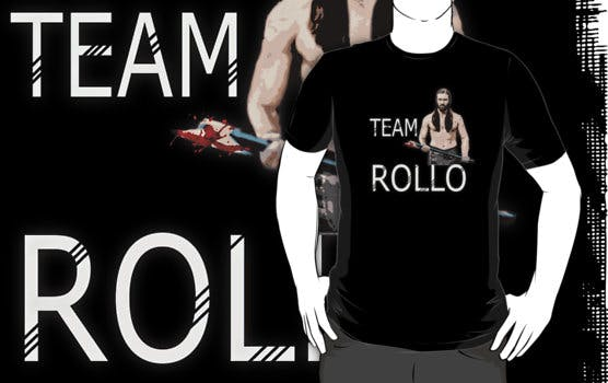 Team Rollo Vikings tee