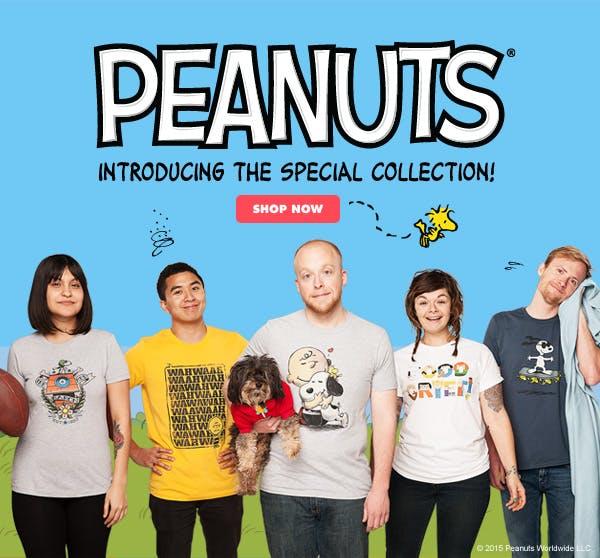 Peanuts t-shirt design