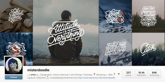 Mister doodle instagram profile