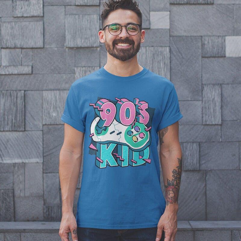 90s kids tshirt