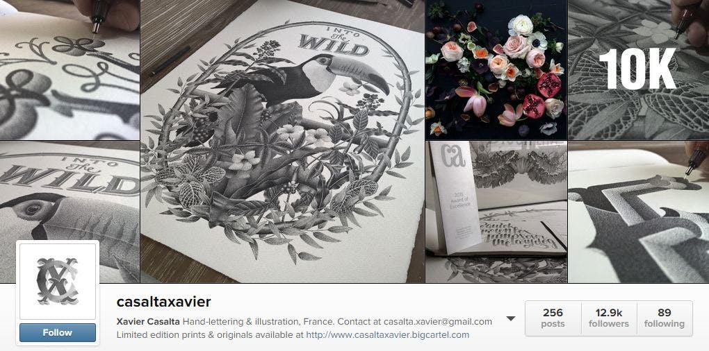Casalta Xavier Instagram