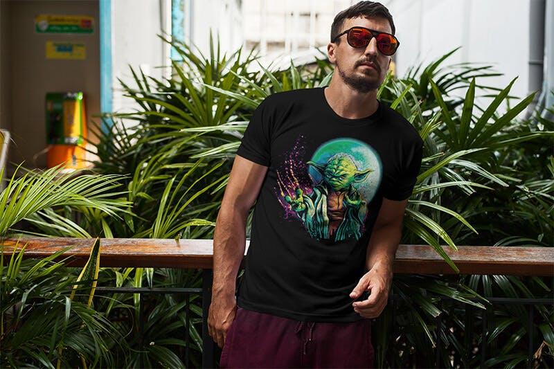 Cool Yoda T-shirt