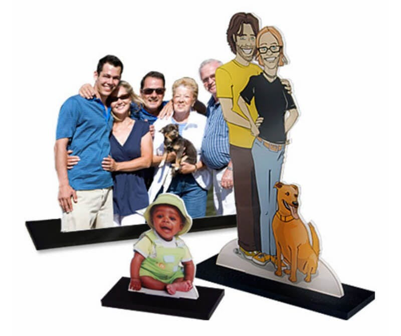 Custom Family Photo Cut Out