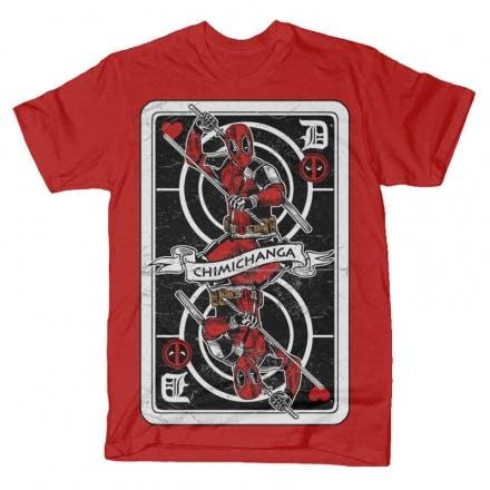 Deadpool-Card-T-shirt-clip-art-20351