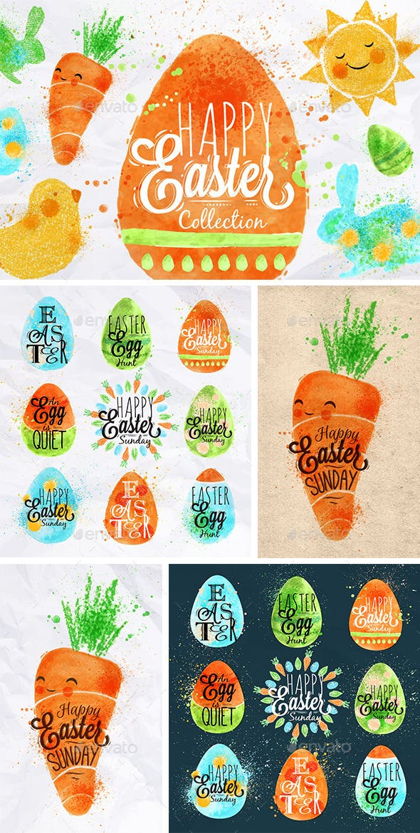 Happy Easter Collection for only 6$