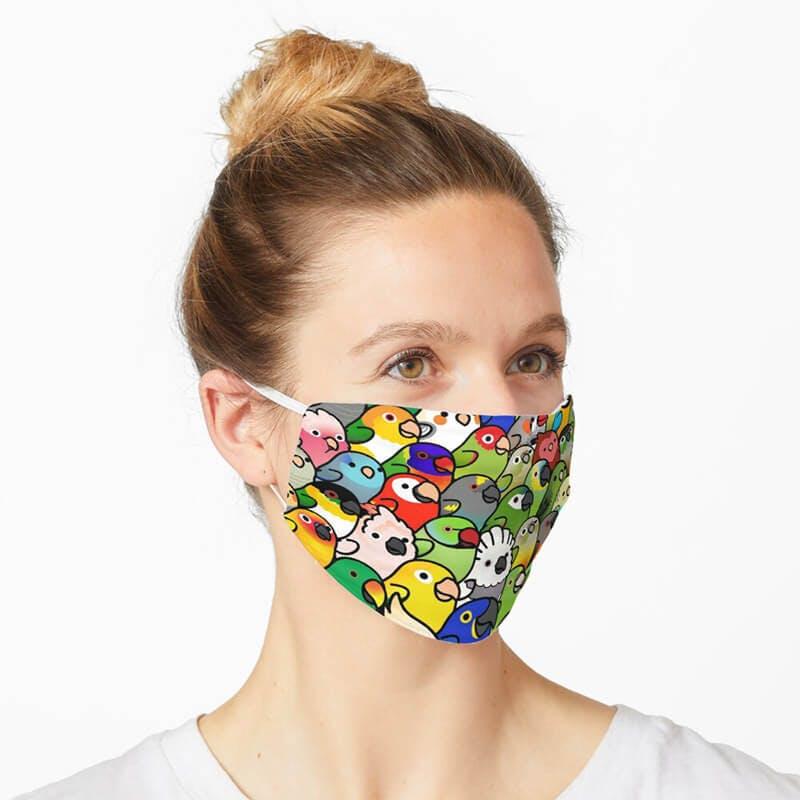 cute pattern mask