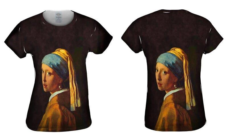 classical art tshirt