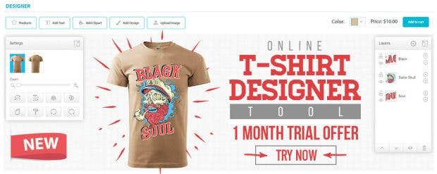 t shirt design software from uDesign