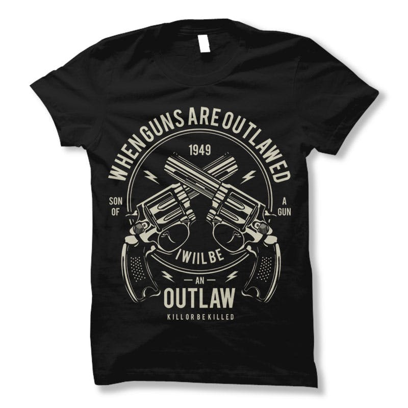 Outlaw-Tee-shirt-design-21564