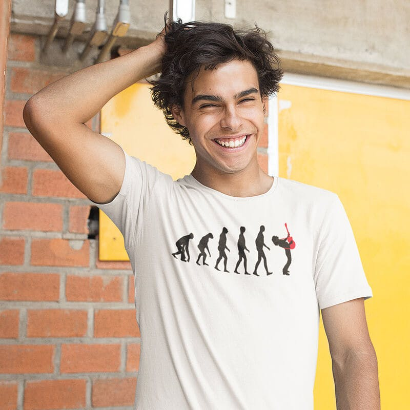 r5ock evolution tshirt