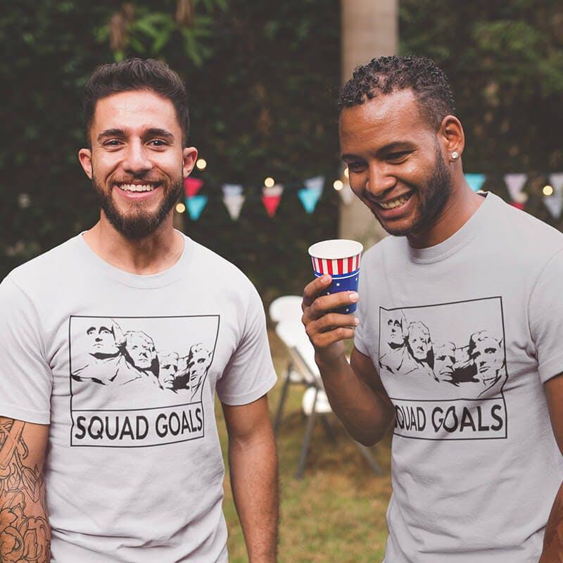 squad goal tee