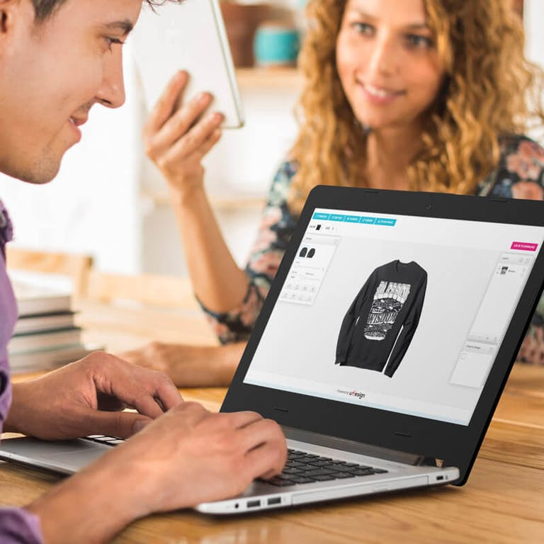 how to start an online tshirt business