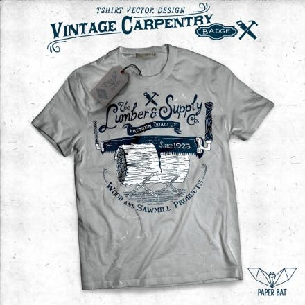 Vintage-Carpentry-Badge-06-Shirt-design-20138
