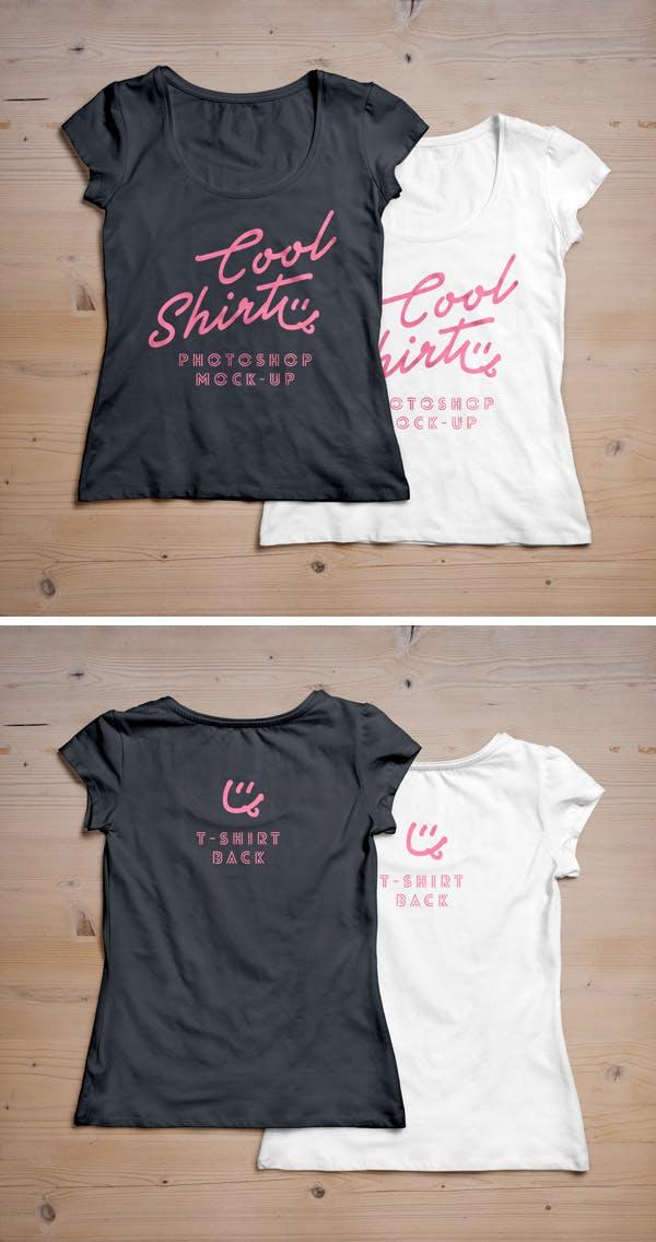 Woman-T-Shirt-MockUp-2-600