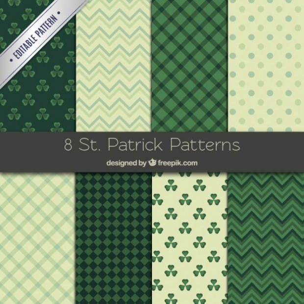 St Patrick patterns