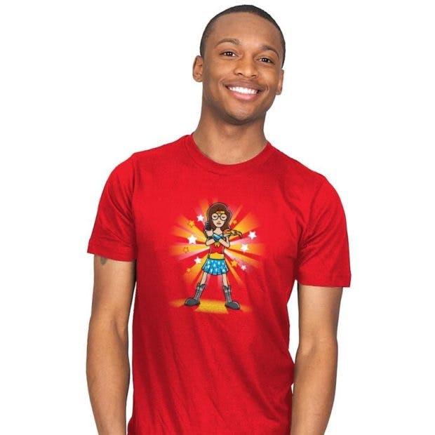 wonder woman t-shirts