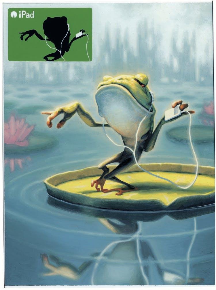 Dancing Frog- James Bennett
