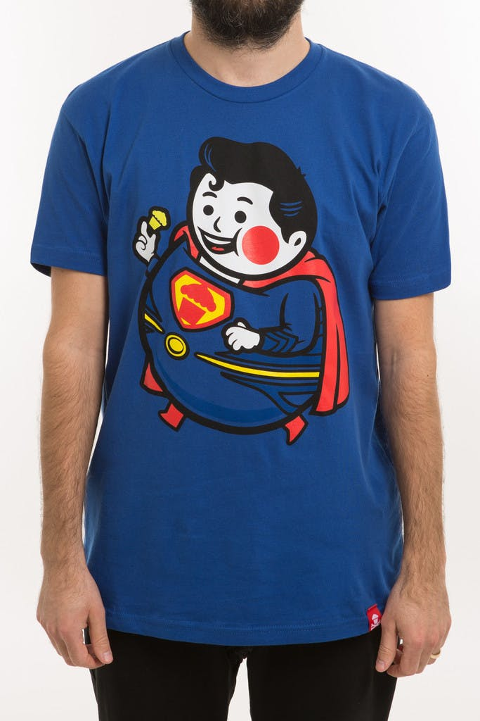 Johnny Cupcakes superman T-shirts