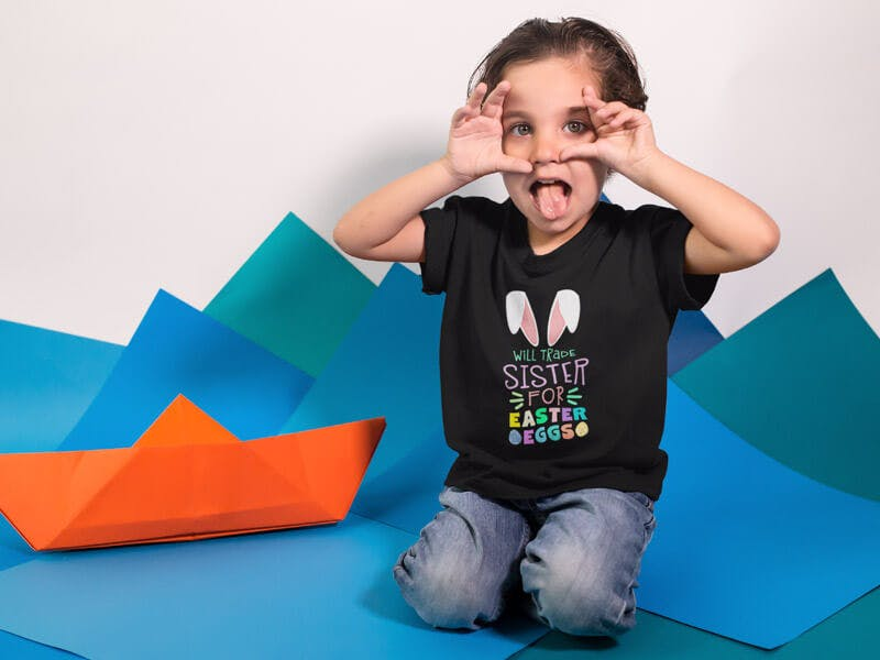 easter inspired tshirts for kids
