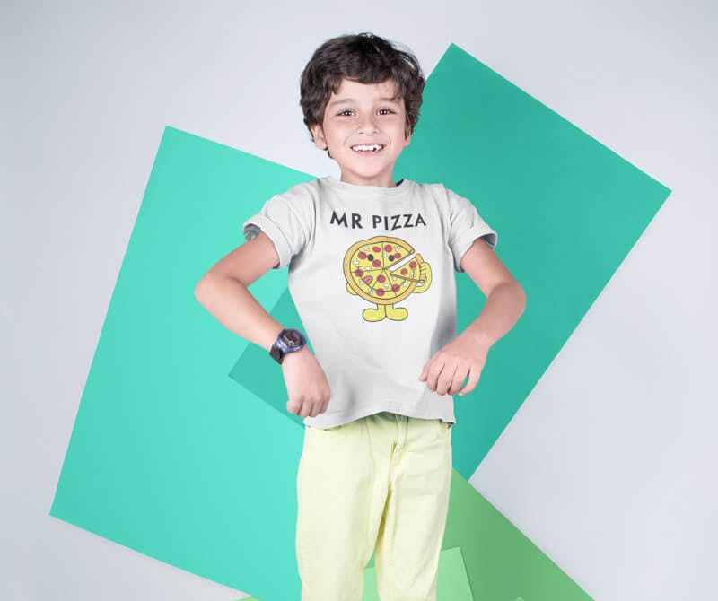 pizza tshirt for kids