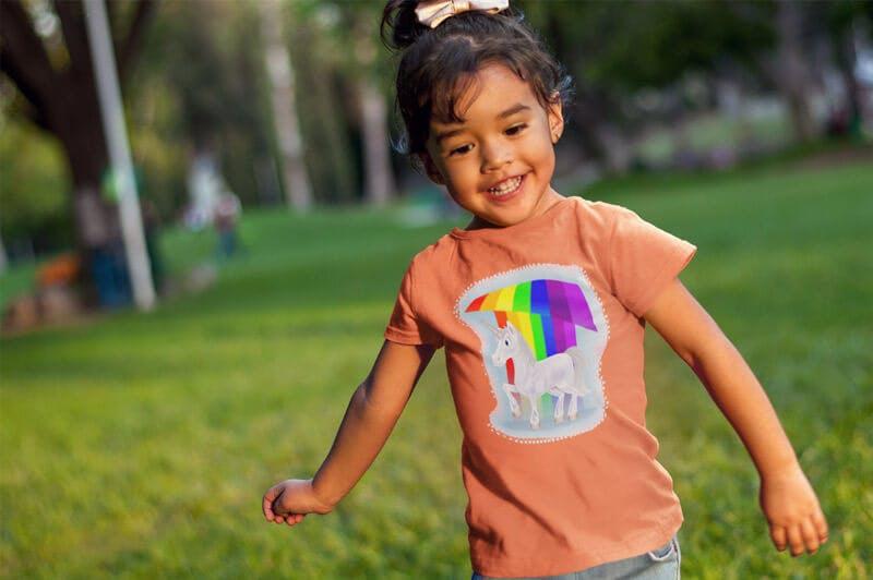 unicorn tshirts for kids