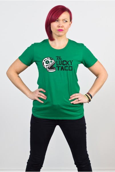 The Lucky Taco T-shirts Mr Vintage