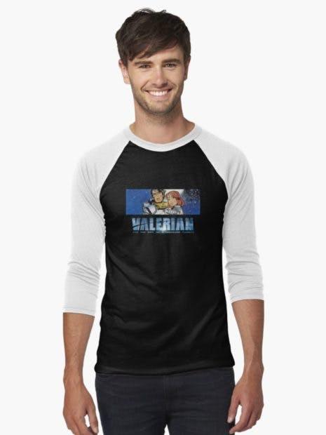 valerian t-shirts