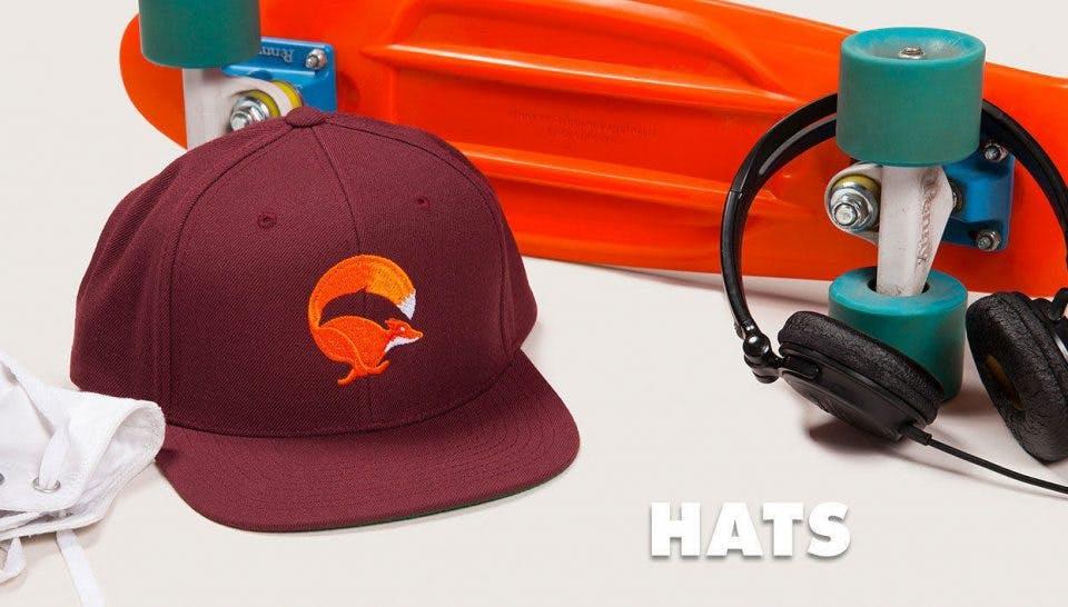 Threadless hats