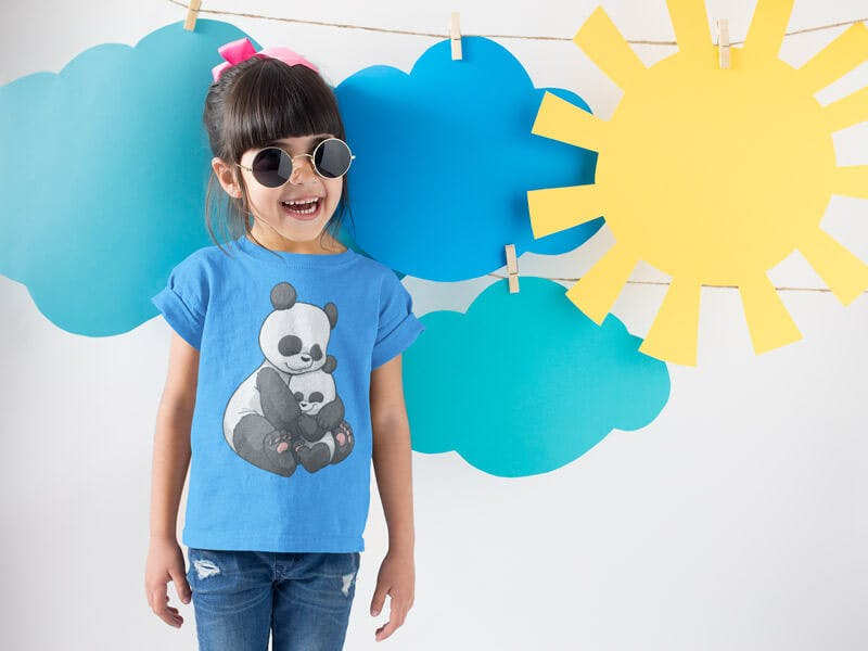 panda tshirt for kids