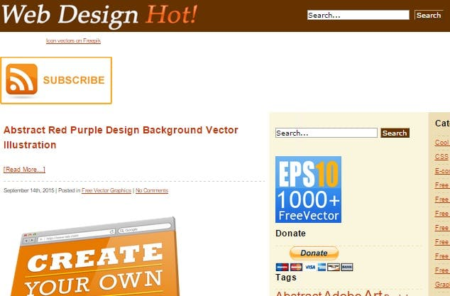web design hot