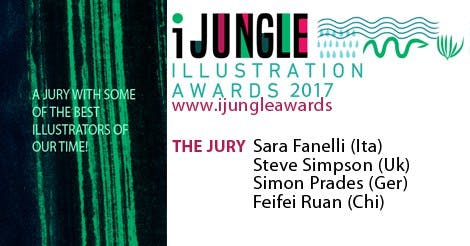 ijungle illustration awards